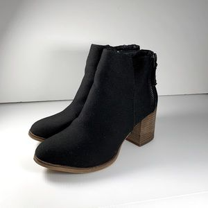 Chelsee Girl Heeled Ankle Booties
